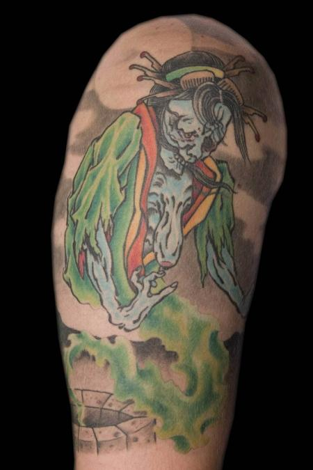 Envy skin gallery billy hill tattoo artist columbus ohio for Best tattoo artists in ohio