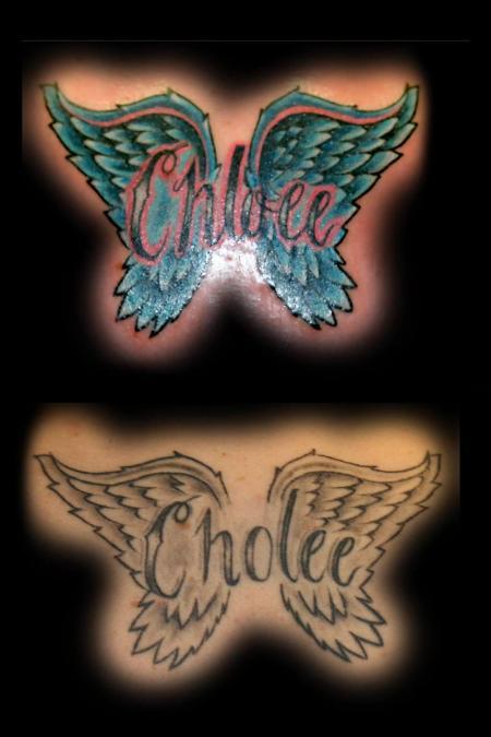 Tattoo Columbus Ohio Billy Hill - Tattoo Wings