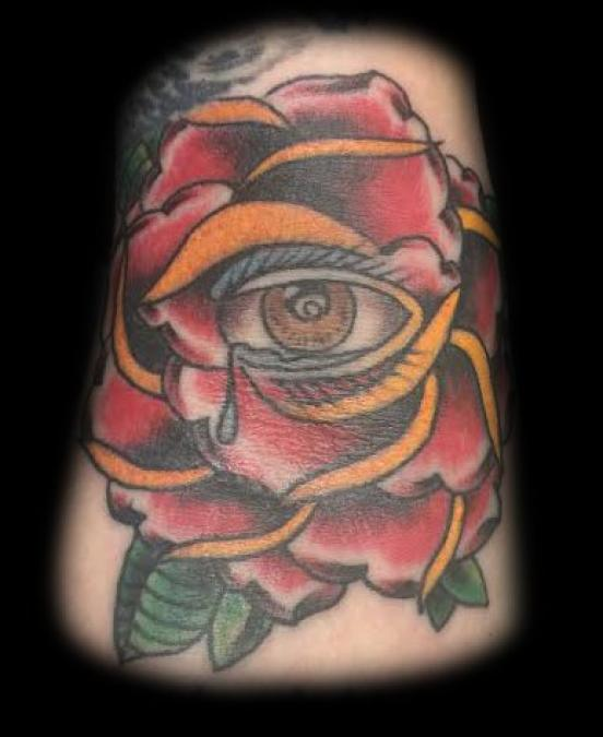 Tattoo Columbus Ohio Billy Hill - Tattoo Flower