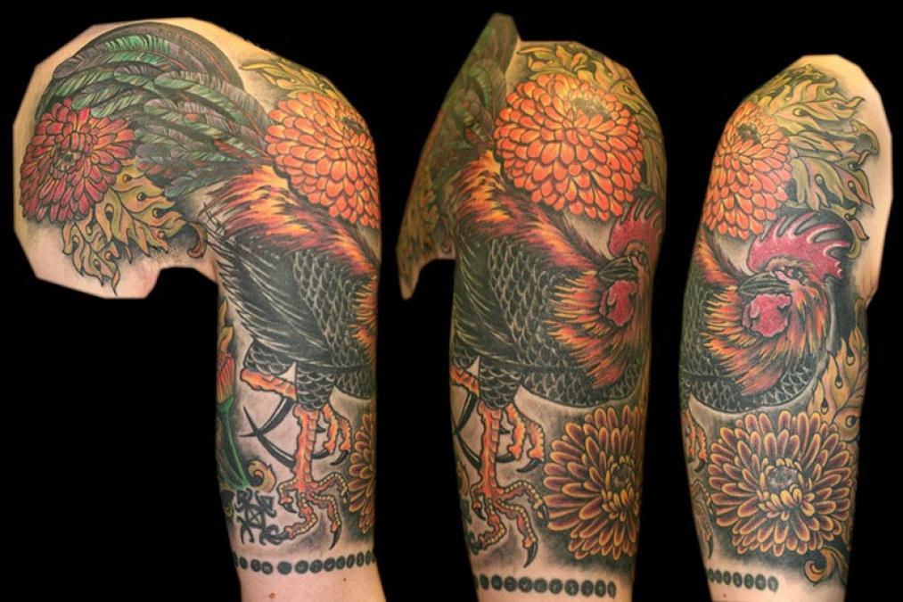 Tattoo Columbus Ohio Billy Hill - Tattoo Rooster