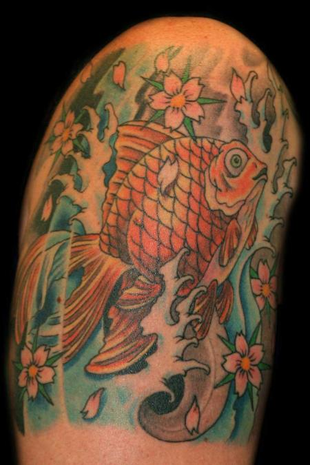 Tattoo Columbus Ohio Billy Hill - Tattoo Fish