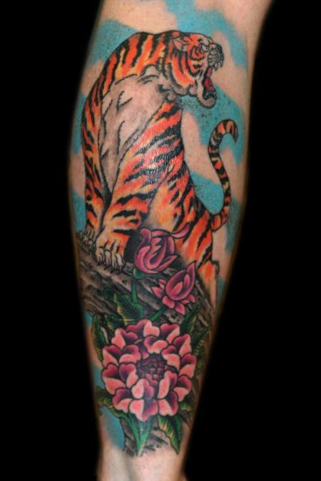 Tattoo Columbus Ohio Billy Hill - Tattoo Tiger