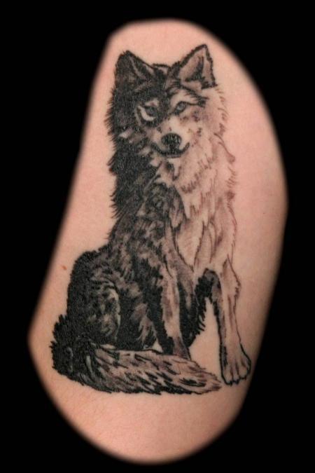 Tattoo Columbus Ohio Billy Hill - Tattoo Wolf