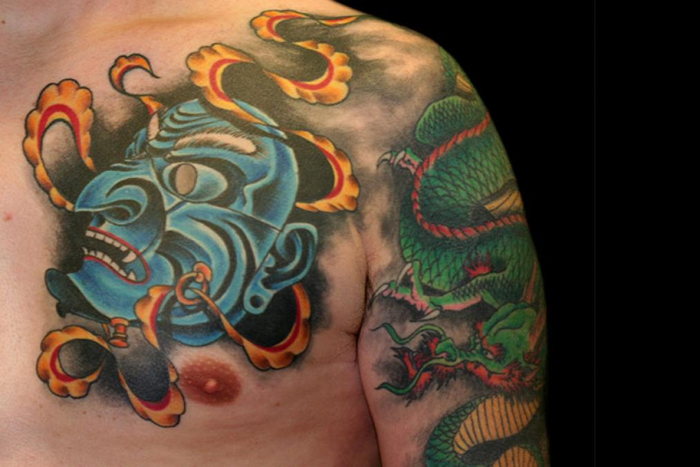 Tattoo Columbus Ohio Billy Hill - Tattoo Dragon