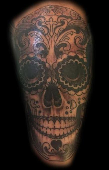 Tattoo Columbus Ohio Billy Hill - Tattoo Skull