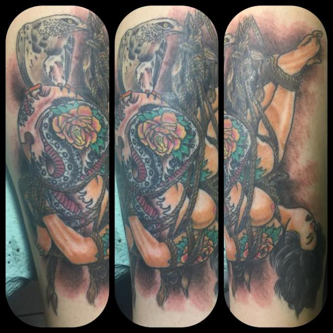 Tattoo Columbus Ohio Billy Hill