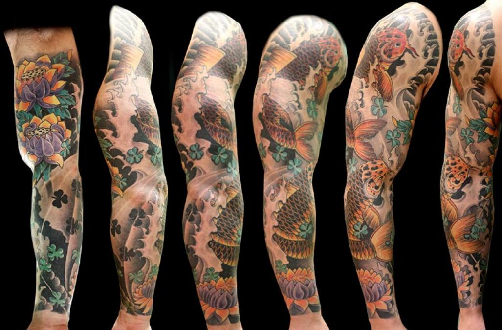 Tattoo Columbus Ohio Billy Hill - Tattoo Arm
