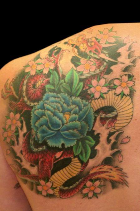 Tattoo Columbus Ohio Billy Hill - Tattoo Flowers