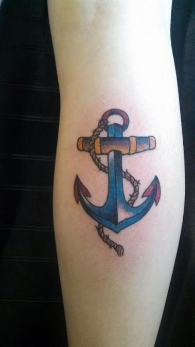 Tattoo Columbus Ohio Curtis Shepherd - Tattoo Anchor